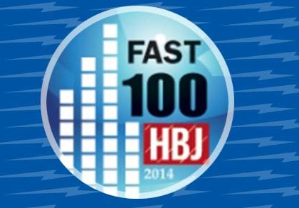 Nominated as one of Houston's 100 Fastest Growing Companies