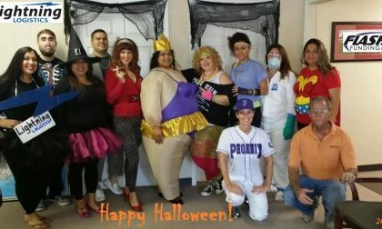 Happy Halloween from Lightning Logistics, Flash Funding & Rapid Crate!